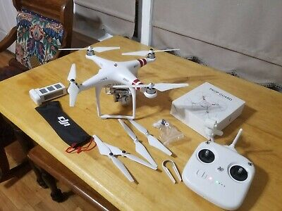 DJI Spirit 3 Standard Quadcopter Camera Drone - White
