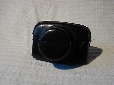 Vintage Leather Canon Camera Case – Canonet QL?