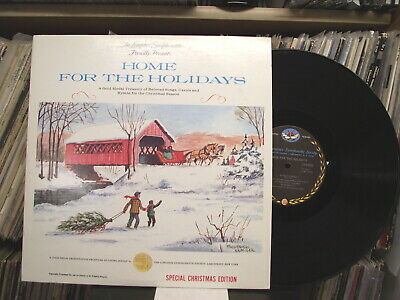 Home For The Holidays Christmas 2 LP Longines Symphonette Society Records