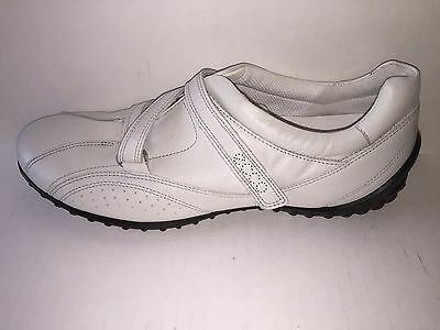 ecco Women's shoes  CHarm Quick Fasatner White NEW in Box, size 10-10.5 Ecco Womens Charm