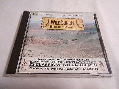 The Wild Bunch - Best Of The West 22 Classic Western Themes Cowboy Music UK CD *](Western Theme Music)