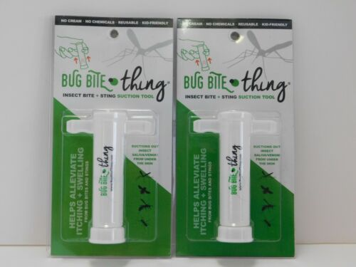 2PK- Bug Bite Thing - Insect Bite & Sting Suction Tool - FREE SHIPPING!