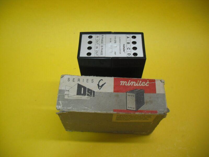 Minilec Cts5 Current Convertor