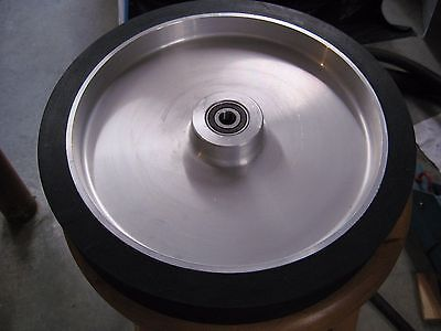"2""x72"" Belt Sander/Grinder Rubber Contact Wheel,12"" Knife Making Contact Wheel"