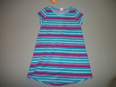 GIRLS GYMBOREE MIX N MATCH BLUE PINK DRESS NWT RETAIL $26.95 SIZE 4