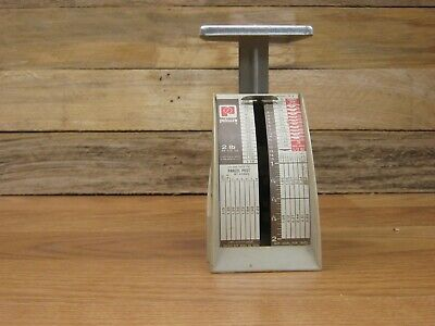 Old Pelouze 2 Pound Mail Scale Not Digital