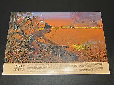 Vintage GM Pontiac Indian Collection Dealership Advertising Print Dealer Poster
