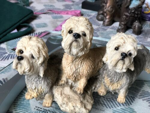 Collectible Dandie Dinmont Terrier Statutue