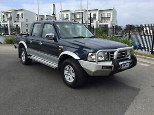 2004 FORD COURIER PG XLT INTERCOOLED T/DIESEL 4X4 D/CAB UTE!!