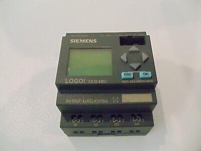 Siemens 6ed1 052-1md00-0ba6 Plc Logo Logic Extension Module