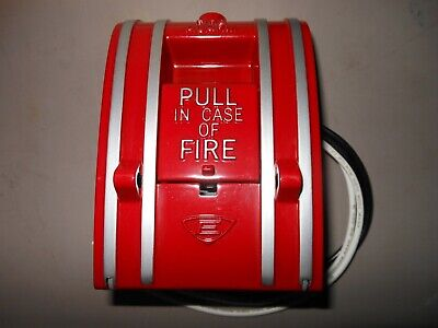 Edwards Signaling 270 Conventional Fire Alarm Pull Station 270a-spo