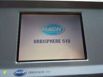 Orbisphere 510 Hach Lange 510a00t1c0p000 Mfg. 201316