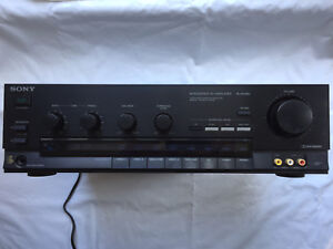 Sony Intergrated Stereo Amplifier/Receiver