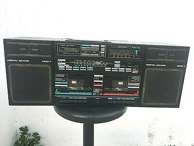 AMSTRAD  DIGITAL SOUND MCD 7- VITANGE RADIO CASSETTE AÑOS 80  ( LEER ) segunda mano  Arriel