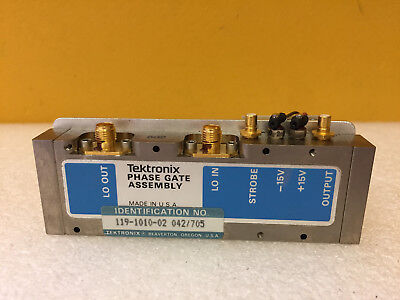 Tektronix 119-1010-02 Phase Gate Assembly. For 492 494 Analyzers. Tested