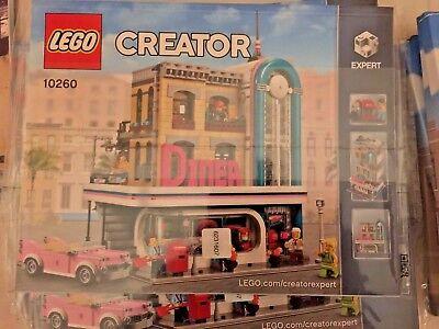 LEGO istruzioni 10260 Diner downtown Creator instructions no bricks  mattoncini