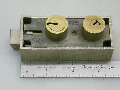 Mosler 3210 Safety Deposit Box Lock - No Keys