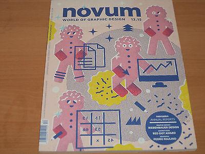 Novum - World of Graphic Design 12/2015 Neuwertig!