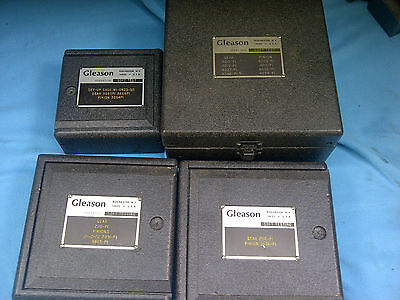 Gleason 83 Operation Soft Testing Hobs Set Of 4