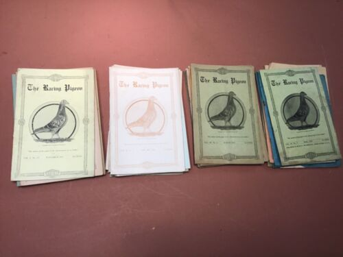 """38 Early Editions Of """"The Racing Pigeon"""" 1917-1920, 1918 Complete"""