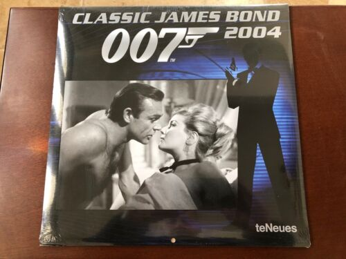 Classic James Bond 007 - *SEALED/UNUSED* 2004 Calendar teNeues