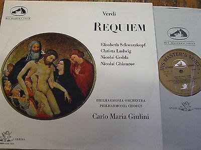 SAN 133-4 Verdi Requiem / Giulini etc. W/A 2 LP set