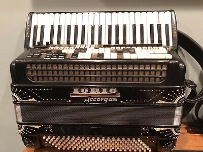 Iorio H Series Accordion, 120 bass, 41 treble, 4/5 reeds