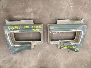 1968 Plymouth Sport Fury Rear Taillight housings