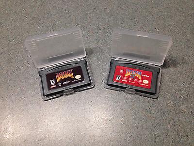 Doom I 1  Doom Ii 2  Nintendo Game Boy Advance  Gba  Lot Option Available
