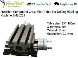 185X100MM Cross Slide Table With Fixed Base [ForestWest] BM30201 Canning Vale Canning Area Preview