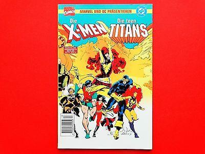 Comic: Die X-Men - Die Teen Titans * DC * Marvel Deutschland * Z: 1 * gebraucht (Teen Superhelden)