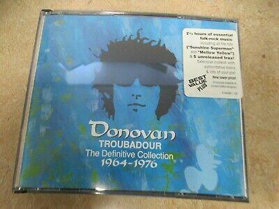Troubadour: The Definitive Collection 1964-1976- Donovan (CD, 1996, 2 Cd Set)