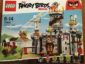 Brand new Lego Angry Birds 75826 King Pig's Castle Athelstone Campbelltown Area Preview