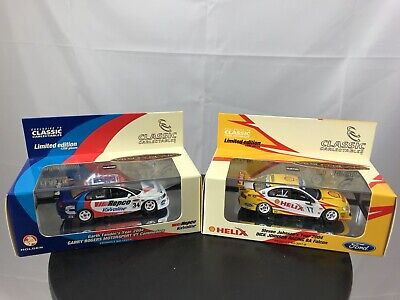 Classic Carlectables 1/43 S JOHNSON 2004 FORD FALCON / G Tander Holden Commodore