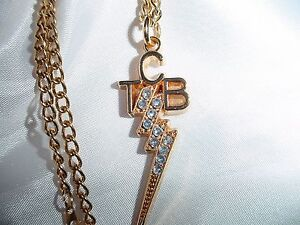 ELVIS-PRESLEY-Small-Rhinestone-TCB-Necklace