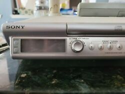 Sony ICF-CD543RM kitchen Clock Radio CD Player Alarm