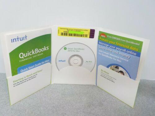 Intuit QuickBooks 2010 - Full Version for Mac