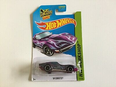 Hot Wheels HW Workshop Super Treasure Hunt '69 Corvette with real riders