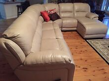 Modular leather lounge Turvey Park Wagga Wagga City Preview