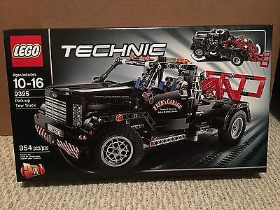LEGO TECHNIC Pick-Up Tow Truck 9395 NEW, Factory Sealed