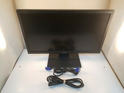 "Acer V226HQL 21.5"" LCD Monitor w/Power Cord, VGA Cord, Stand"