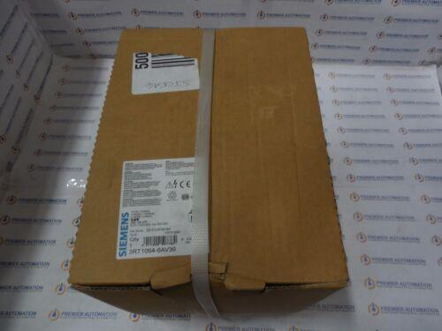 SIEMENS 3RT1064-6AV36 - CONTACTOR S10 225A 380-420VUC 3P BAR
