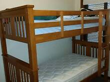 Wooden Bunk beds only 1 year old Kingswood 2747 Penrith Area Preview
