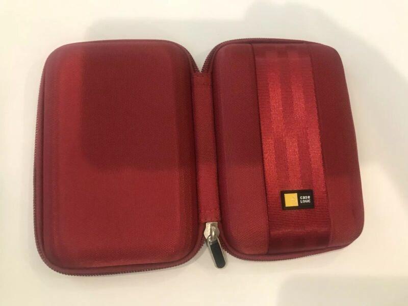 Case Logic Portable EVA Hard Drive Case QHDC – 101 In Red