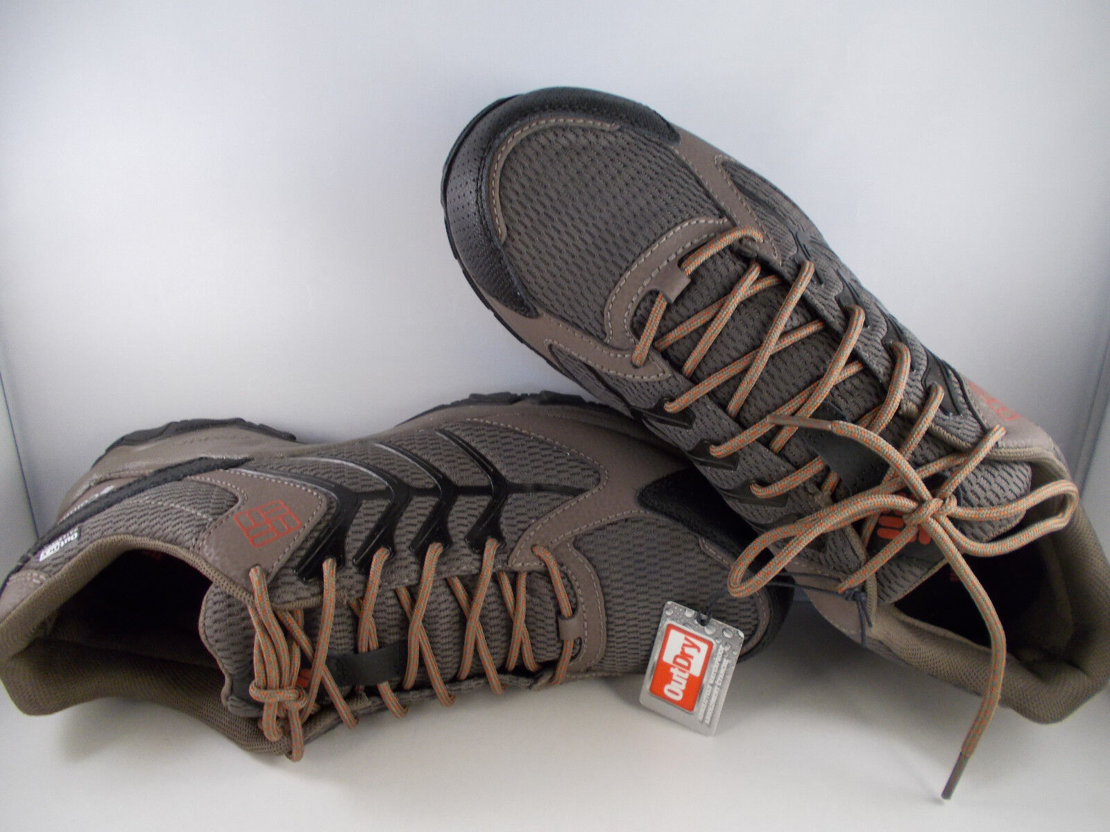 Columbia Trailhawk Outdry Brown Waterproof Hiking Shoes Mens