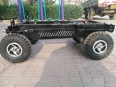Robot Smart Chassis Heavy Duty 4 Wheel Robot Base Large Agv Platform