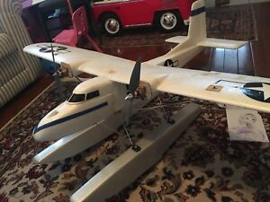 Rc float plane converted multiplex twinstar