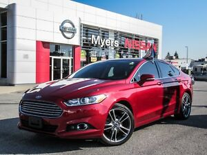 2016 Ford Fusion SE, LEATHER, INTELLIGENT KEY, MOONROOF, BACK UP