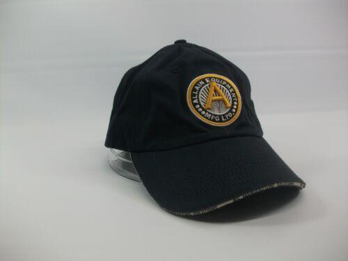 Allain Equipment Mfg Ltd Sample Hat Blue Strapback Baseball Cap