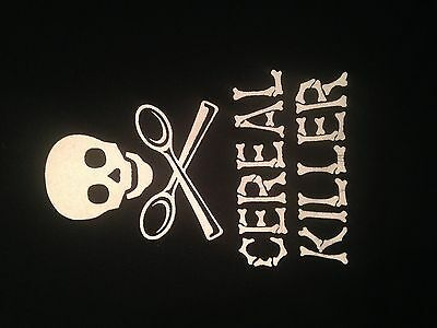 Steve & Barry's Halloween Cereal Killer. Parody Comedy Horror T Shirt. Size XL